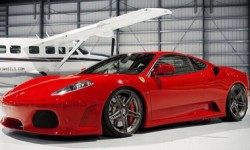 Gorgeous cherry red Ferrari!